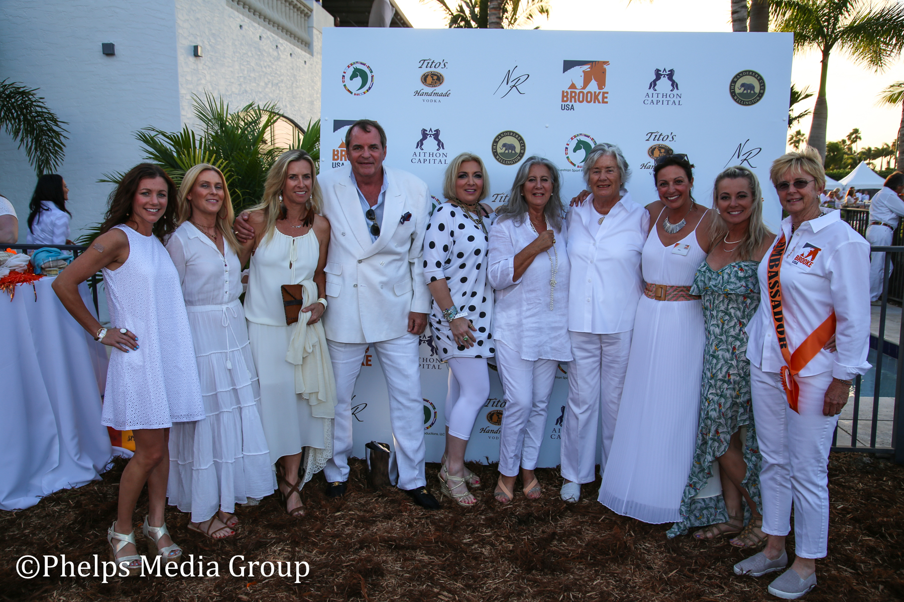 MArgaret Duprey and Friends; Nic Roldan's 2nd Annual Sunset Polo & White Party, FL, by Phelps Media.jpg