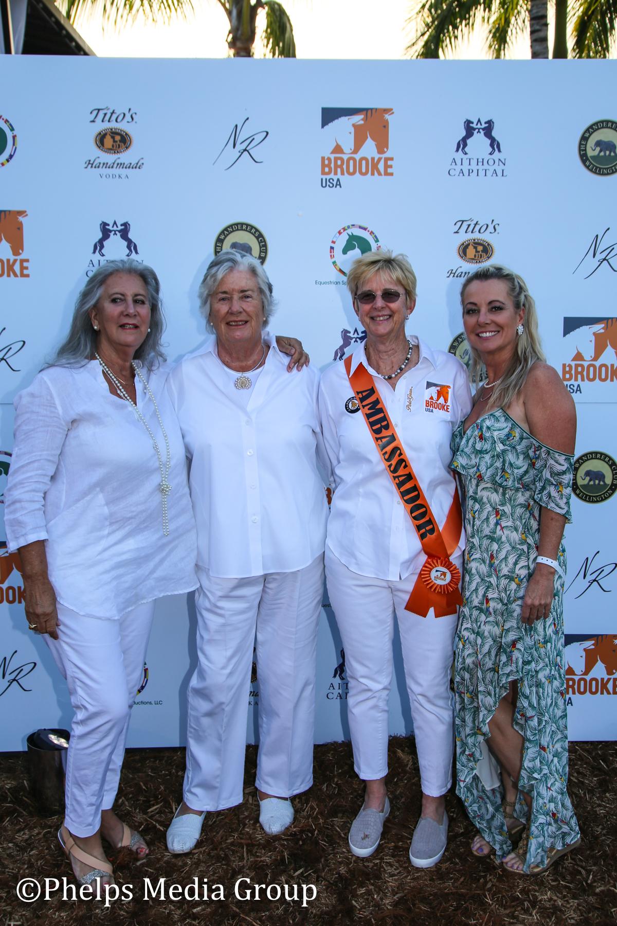 Margaret Duprey Kressa Pederson Gill JOhnston and Caroline Jones; Nic Roldan's 2nd Annual Sunset Polo & White Party, FL, by Phelps Media (1).jpg