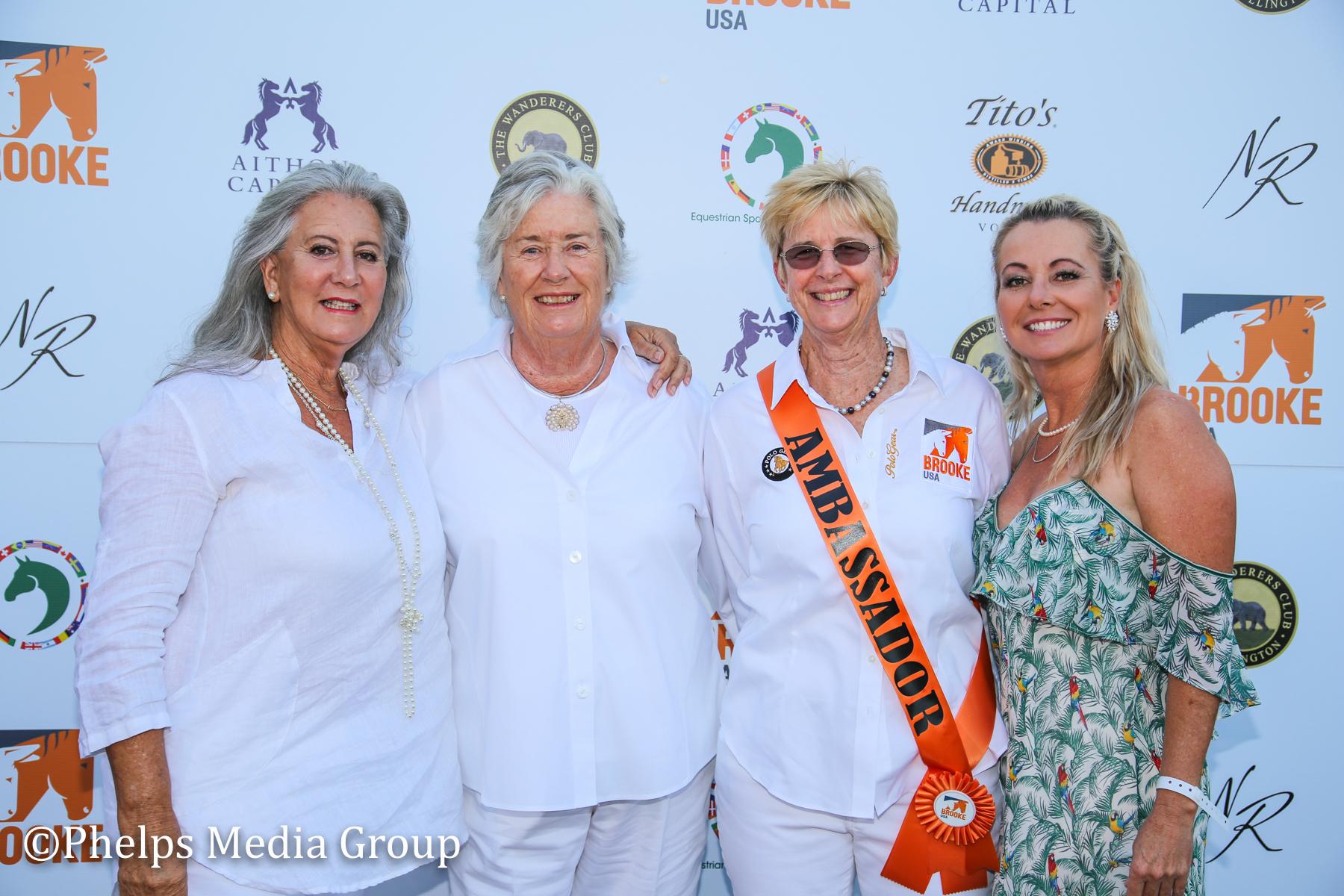 Margaret Duprey Kressa Pederson Gill JOhnston and Caroline Jones; Nic Roldan's 2nd Annual Sunset Polo & White Party, FL, by Phelps Media.jpg