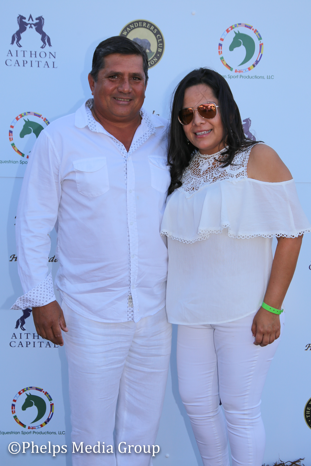 Mariella and Danny Navarette; Nic Roldan's 2nd Annual Sunset Polo & White Party, FL, by Phelps Media.jpg