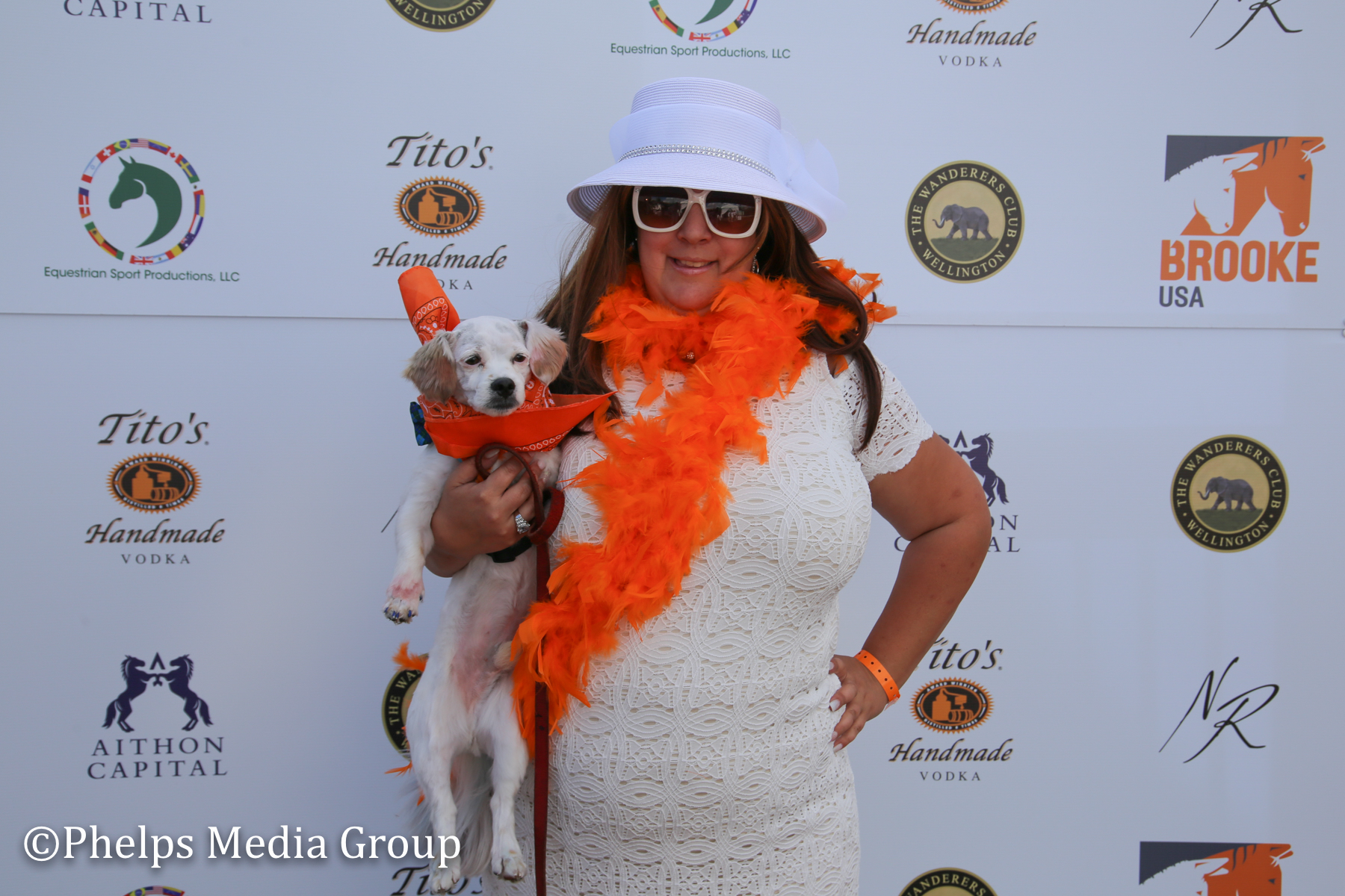 Rachel Reedy and Bentley; Nic Roldan's 2nd Annual Sunset Polo & White Party, FL, by Phelps Media.jpg