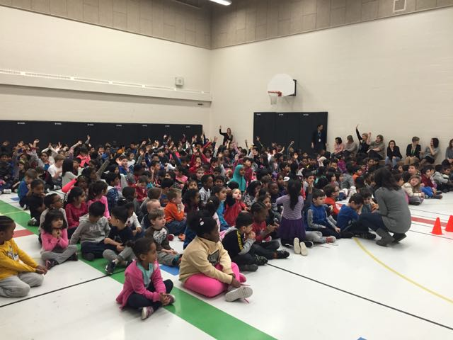Assembly at Willow Way Public School