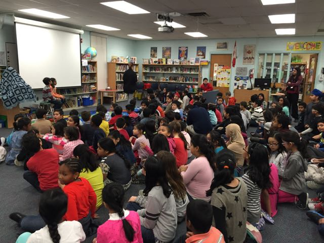 Assembly at Floradale Public School