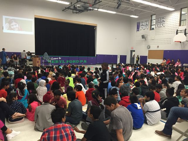 Assembly at Beryl Ford Public School