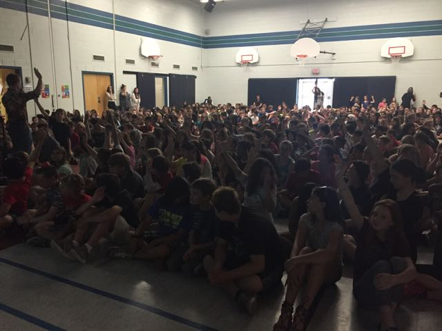 Assembly at Allan A. Martin Sr. Public School