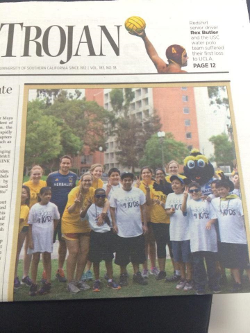 KFK in the Daily Trojan: September 22, 2014
