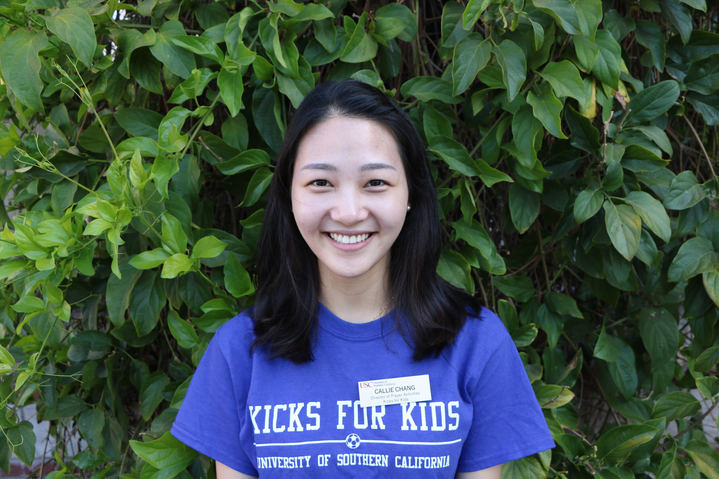 Callie Chang,  Director of Player Activities   Major:  Health Promotion & Disease Prevention