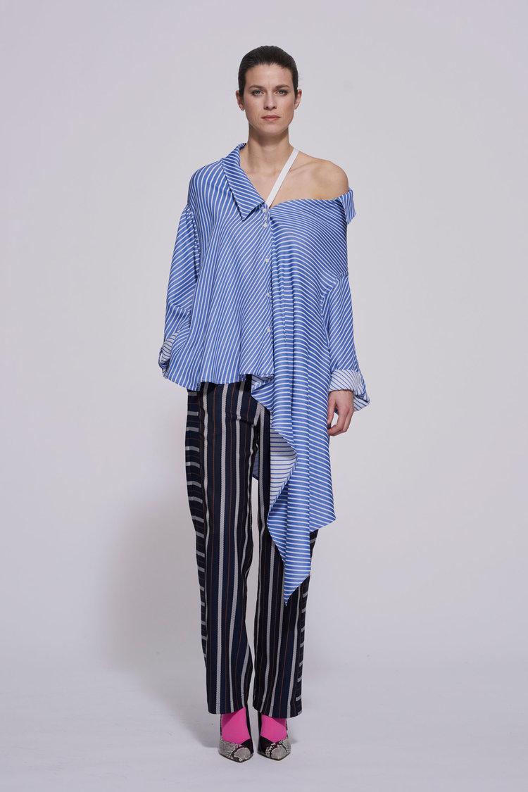 mixed diagonal stripe -