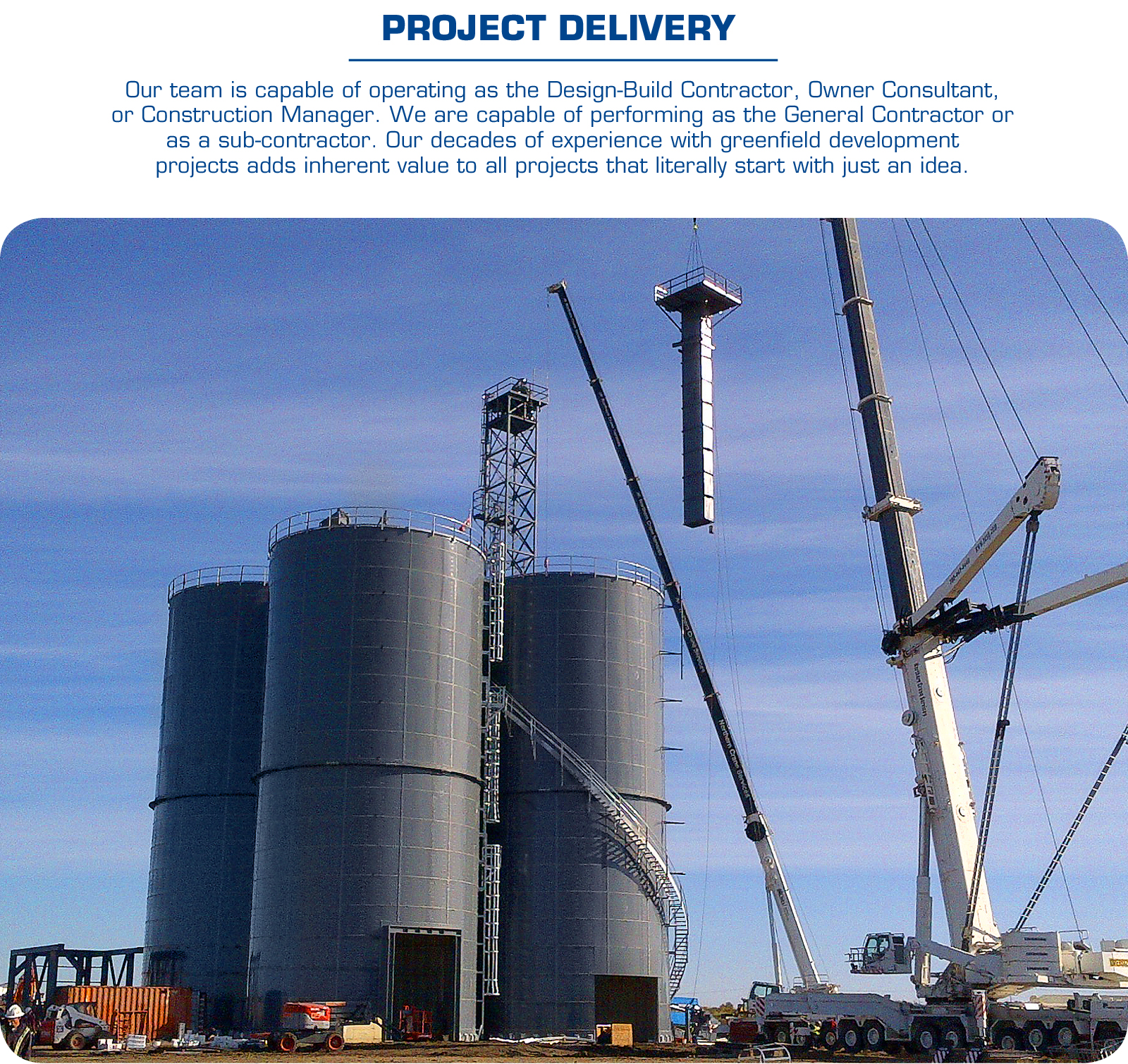 PROJECT DELIVERY