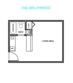 The Hollywood Floorplan
