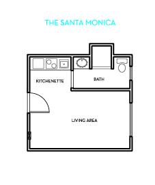The Santa Monica Floorplan