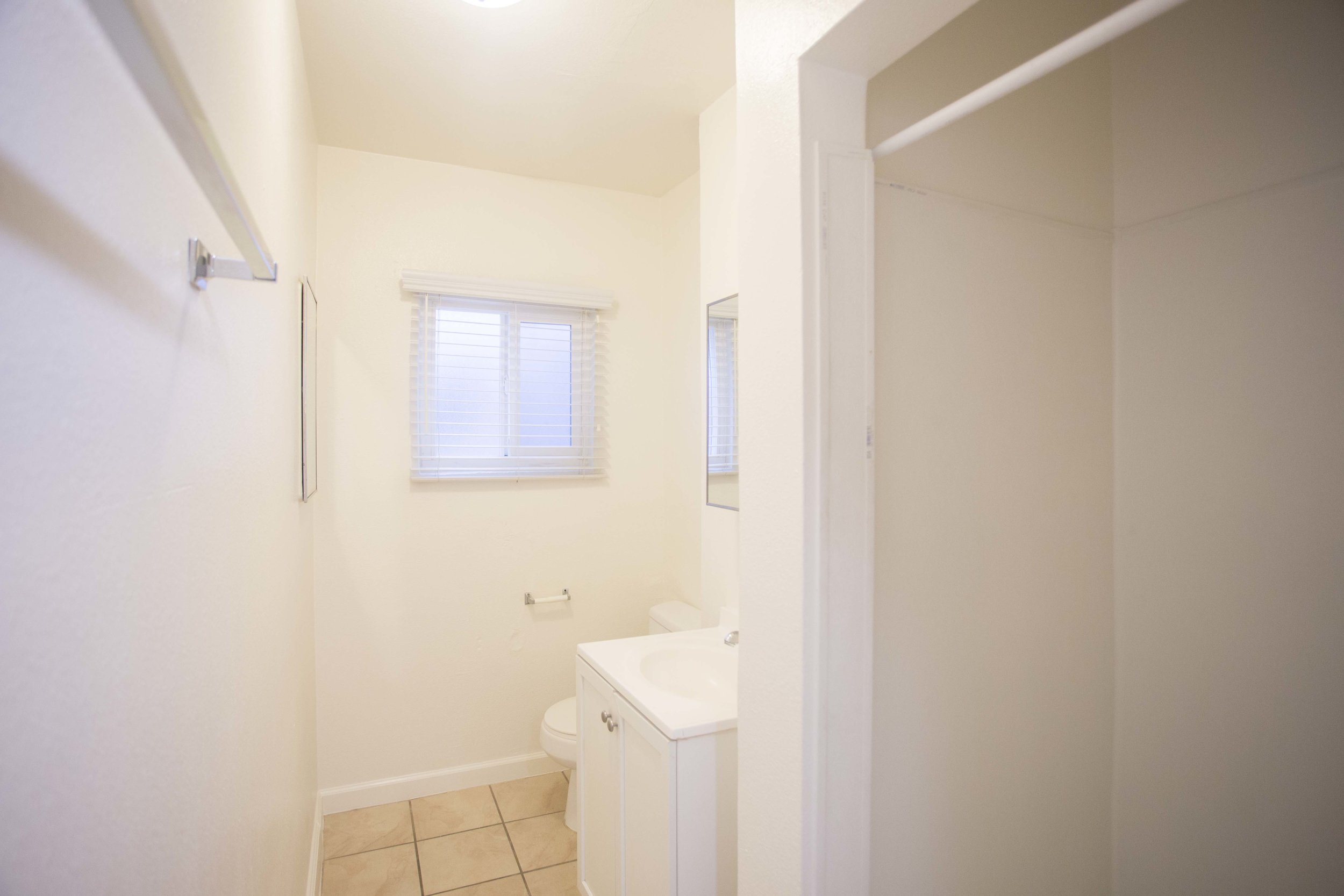 Image of bathroom inside East HOV Building