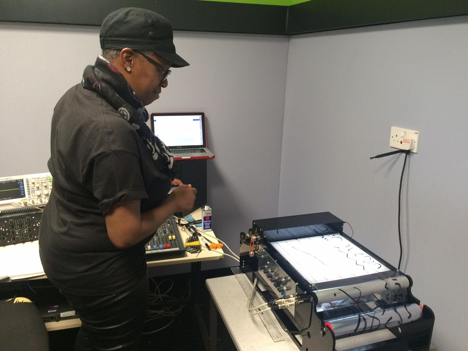 Sound artist Ain Bailey