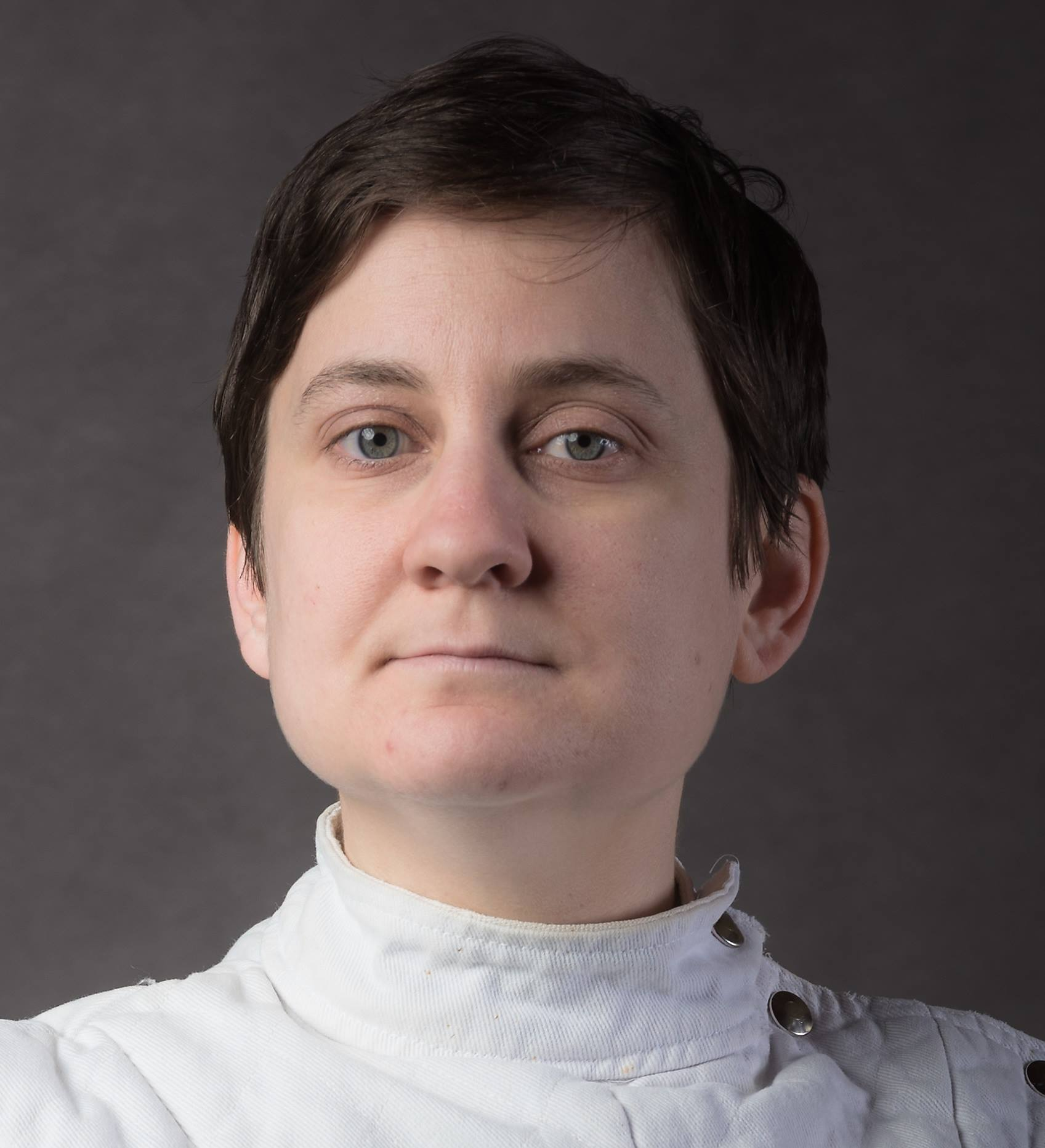 """Dori Coblentz - Dori Coblentz's (PhD Emory University, 2017) work as a fencing teacher is informed by a long Italian-American tradition. In 2017, she earned a Provost at Arms certification in foil, saber, and epee, with a historical concentration in Italian rapier, through Sonoma State University's Fencing Masters Certificate Program. Her most recent work has been within the historical fencing movement, where she is particularly interested in curriculum development. She has published on this topic in a 2018 training manual, Fundamentals of Italian Rapier: A Modern Manual for Teachers and Students of Historical Fencing, which she co-authored with David Coblentz. She is the co-founder of the Decatur School of Arms, which offers weekly classes for adult learners in rapier fencing. """"Taking Your Time in Italian Rapier Fencing""""In everyday speech, to"""