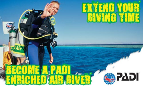 PADI specialty instructor in Curacao