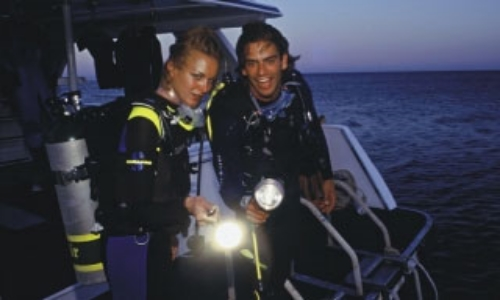 Night dive specialty instructor course curacao