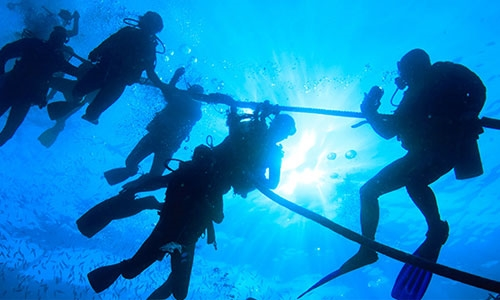 deep diver specialty instructor course in curacao