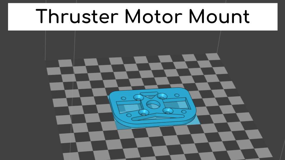 Thruster Motor Mount