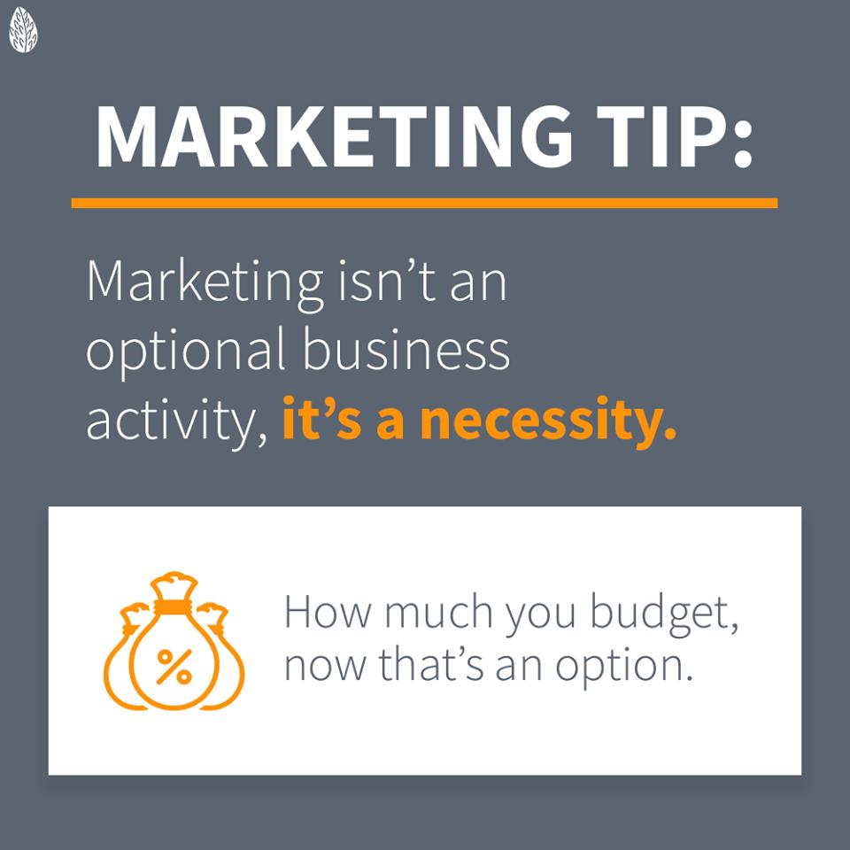 Marketing isn't optional