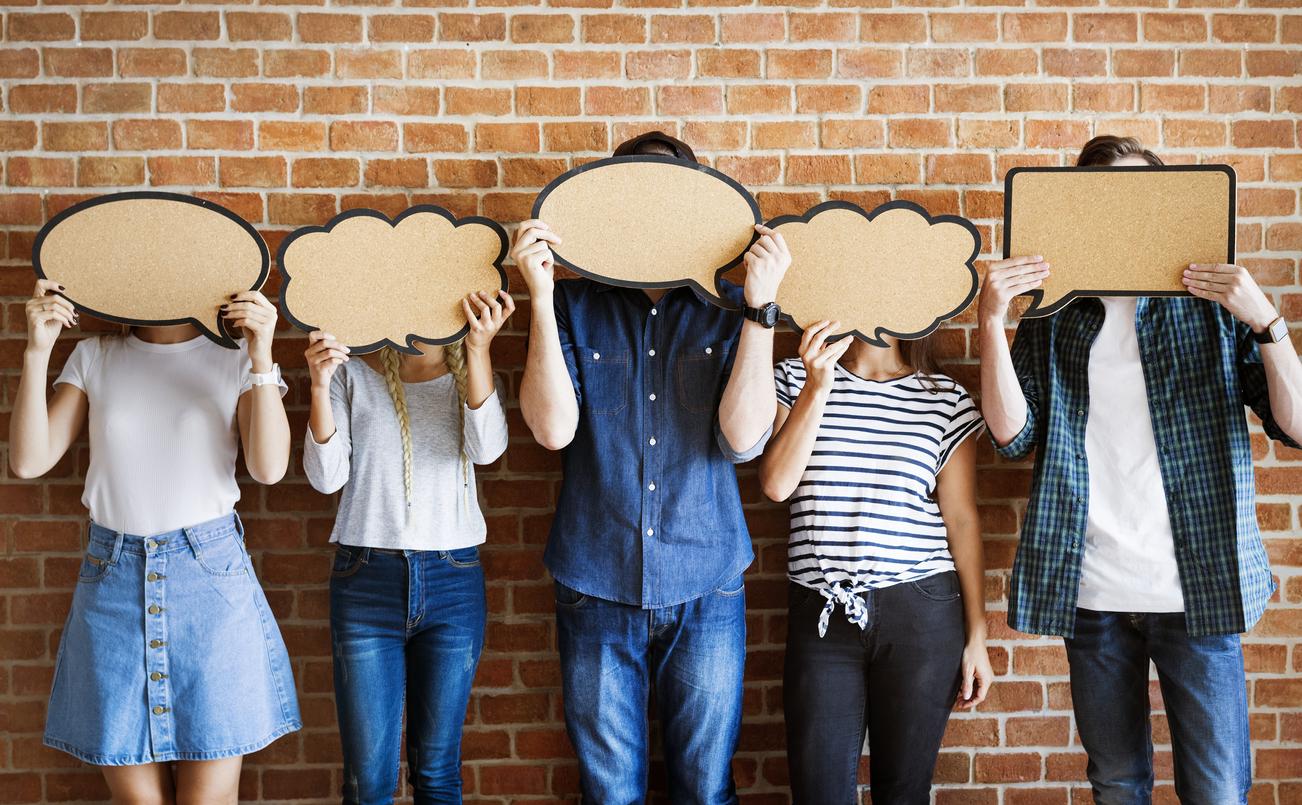 engage on social media