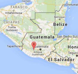 Usda Organic Coffee - SHB Ceylan Guatemala - Map