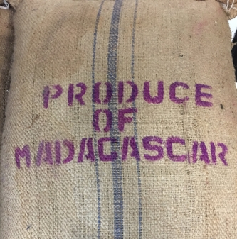 Usda Organic Coffee - Natural Robusta Madagascar - Sack