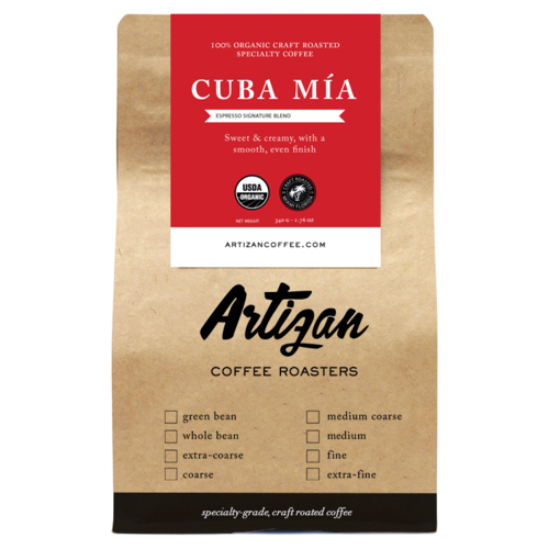 Select this option for our line of USDA Organic and Fair Trade whole & ground coffee beans.