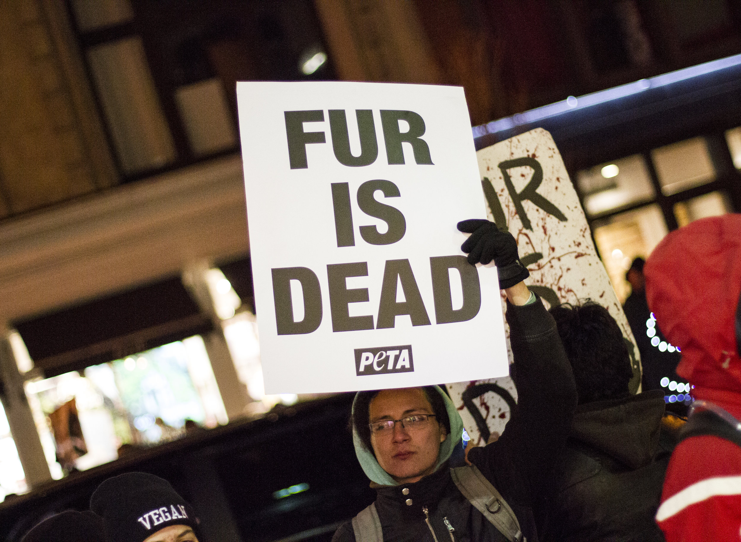 Fur is the product of cruelty, suffering, and slaughter, and those who choose to wear it are choosing to be complicit in the deaths of those animals from whose bodies the fur was taken. Why choose fur, when so many  cruelty-free alternatives  exist?