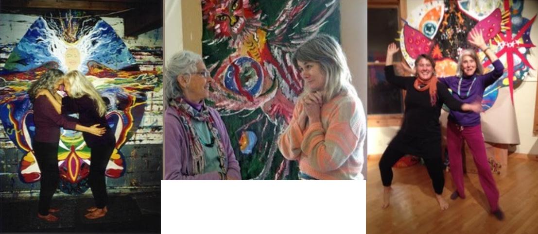 """Aviva, a true Art Medicine Woman, led me from mental concepts to full color embodiment!"" - Pam Hale, Teacher, Healer, Artist, Friend"
