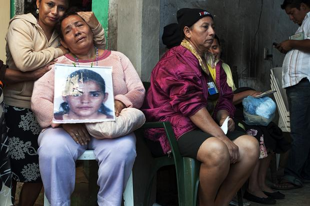 The Mothers of Progreso search for their daughters: 'If we don't no one else will'  Copyright: Encarni Pindado