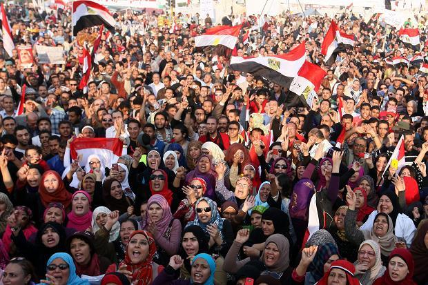 The square has become increasingly dangerous for women  Khaled Elfiqi/EPA