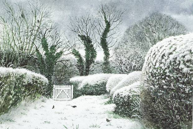Heart of the country: an illustration from David Gentleman's In the Country (Picture: David Gentleman)