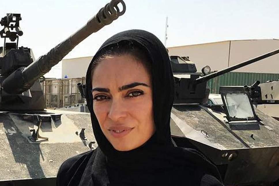 Threat: reporter Ramita Navai in Iraq last year