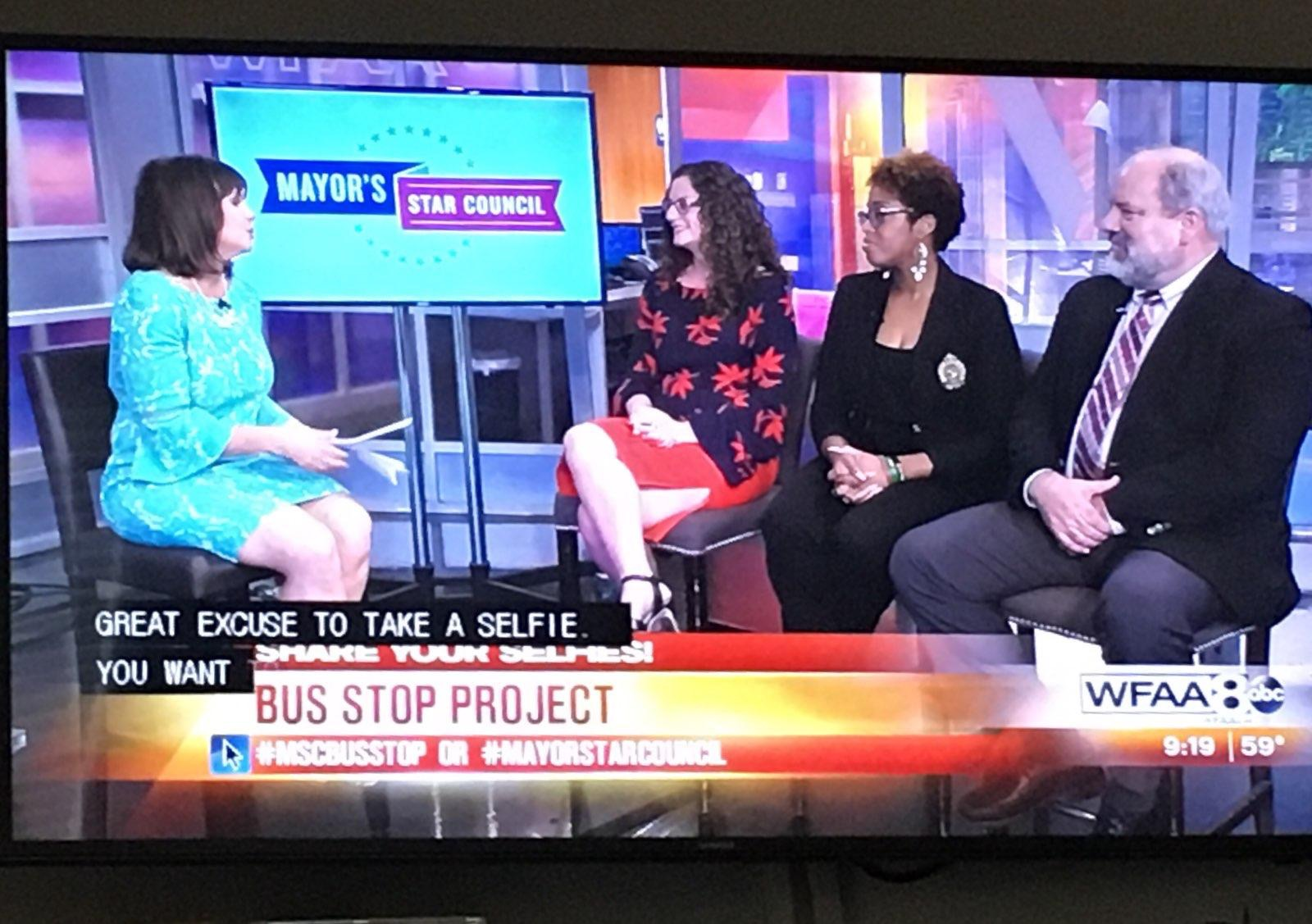 Featured on WFAA - MSC Executive Director Diana EinsteinPark South YMCA Rodrigua RossDART Media Representative Mark Ball