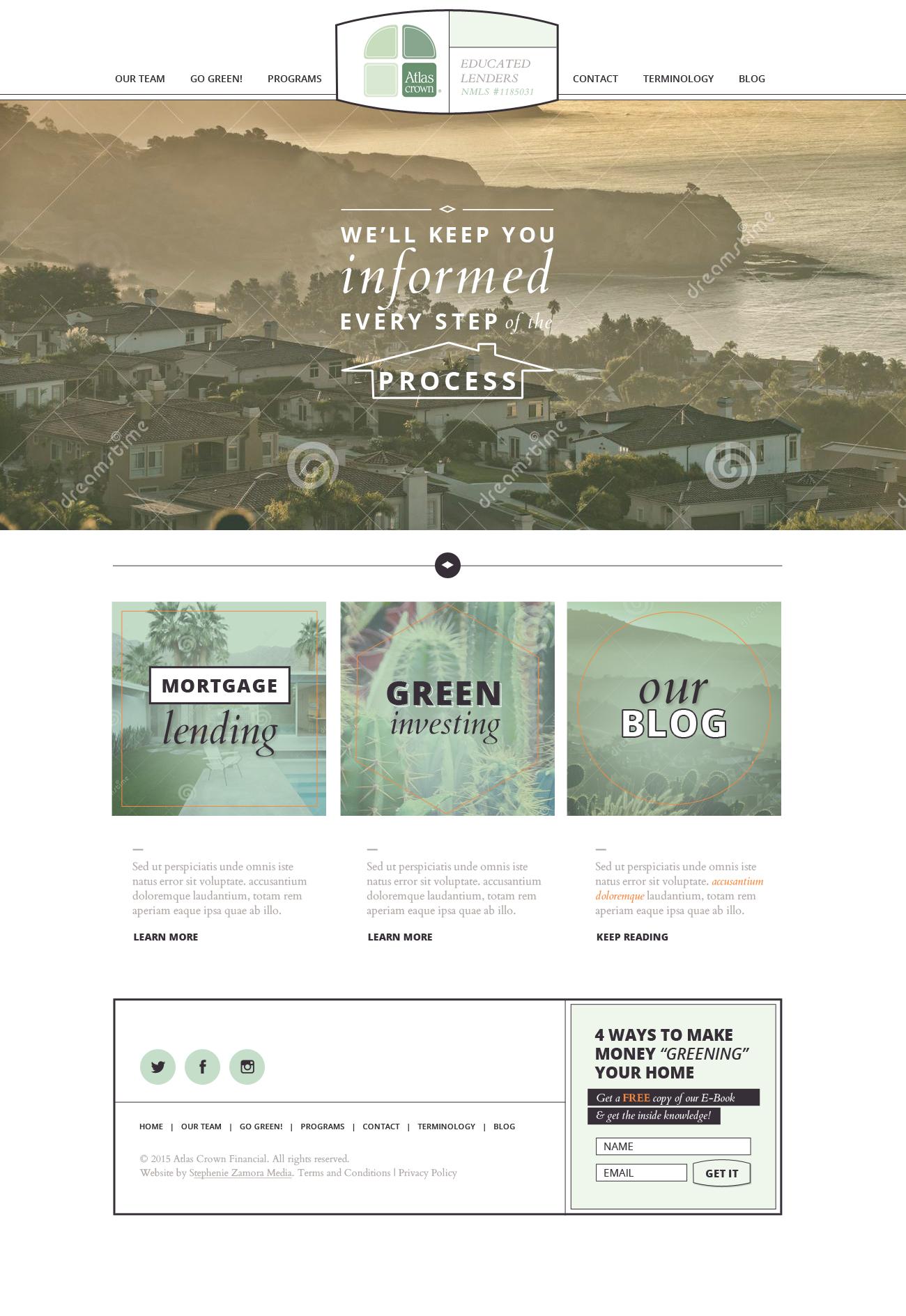 homepage v1