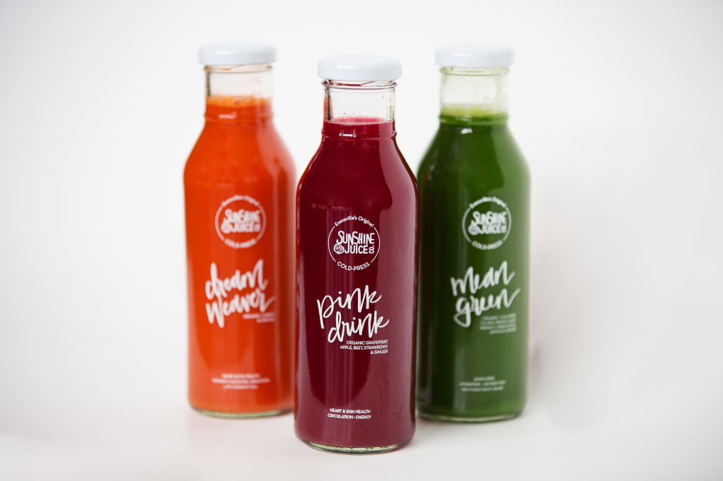 Sunshine Juice Co. stock photos