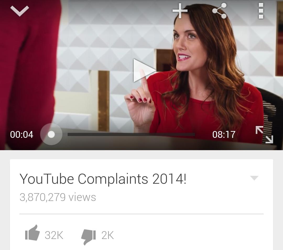 Y ouTubeComplaints 2014!