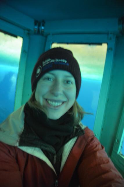 Selfie in the ob tube!