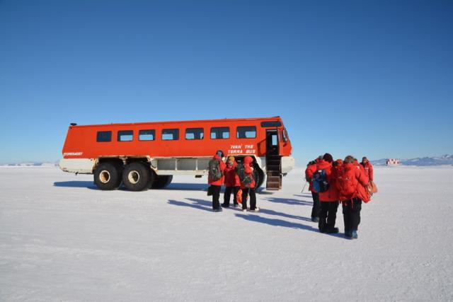 Ivan the Terrabus takes us to McMurdo