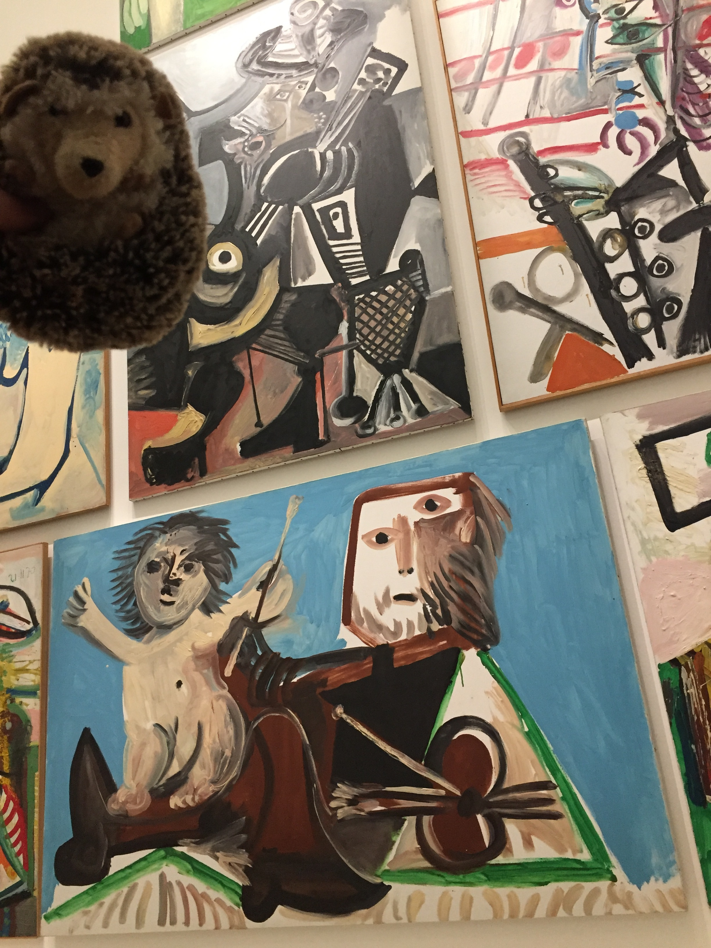 My favorite museum? PIcasso, of course. I felt at home with the characters in his paintings.