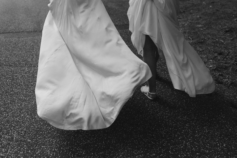 Flowing dresses