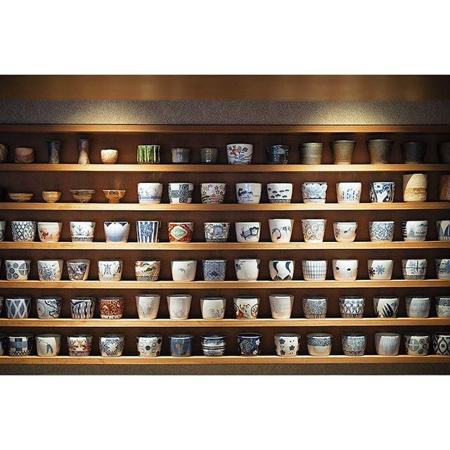 Day 12 | Chawan grid #ceramics #ocd #oppositeofwabisabi #japanese #restaurant