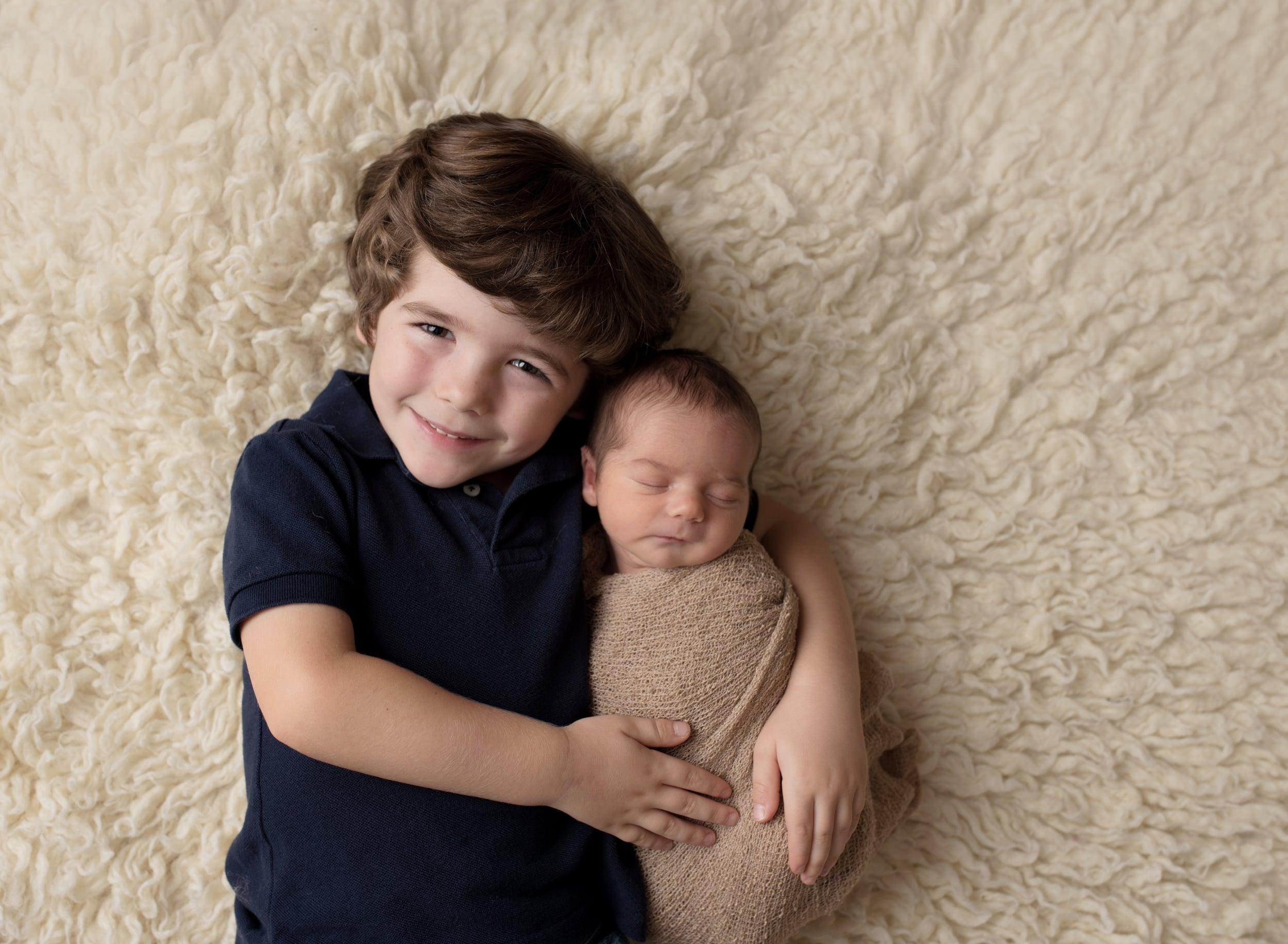 Titling/Alt Text/Description: 1. Jacksonville Newborn Photography 2. Newborn and sibling 3. Jacksonville Newborn Photographer 4. Baby 5. Saint Augustine