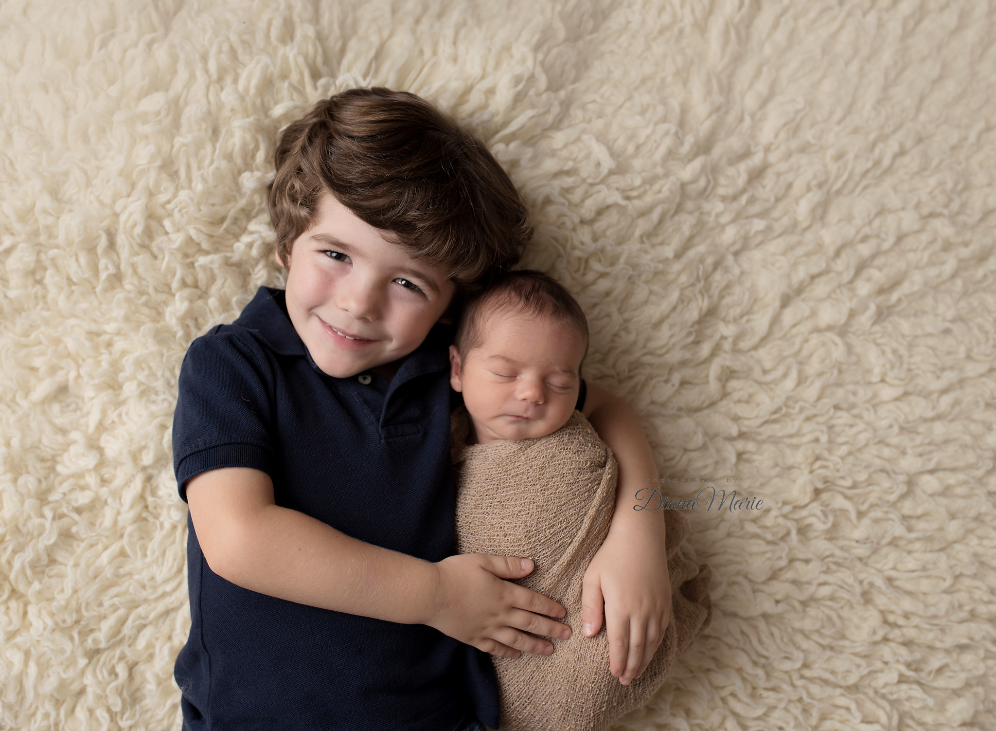 Titling/Alt Text/Description: 1. Jacksonville Newborn Photography 2. Jacksonville Newborn Photographer 3. St Augustine Newborn Photography 4. Florida Photographer 5. Newborn and Sibling Photo 6. Flokati