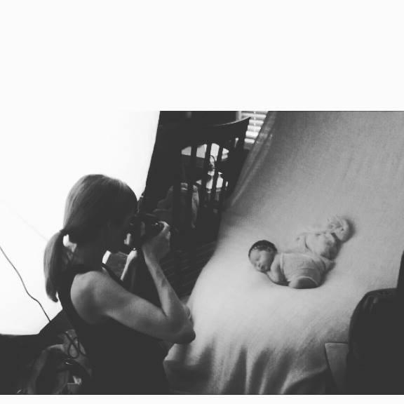 Titling/Alt Text/Description: 1. Jacksonville newborn photography 2. jacksonville newborn photographer 3. st augustine newborn photographer 4. photography by diana marie 5. newborn on pink blanket 6. newborn session 7. baby photography jacksonville 8. newborn headband 9. newborn headpiece roses