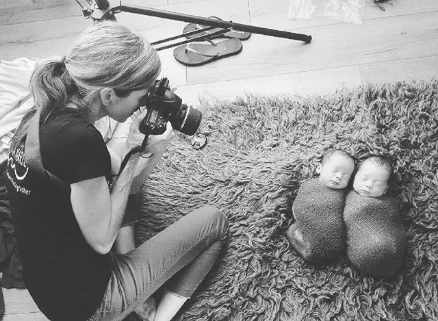 A few #behindthescenes from yesterday's newborn session! Thanks @dallasarthurphotography for taking these!  #newbornphotographyjacksonville #jaxmomsblog #staugustine #igersjax #igersstaugustine #jacksonvillenewbornphotographer