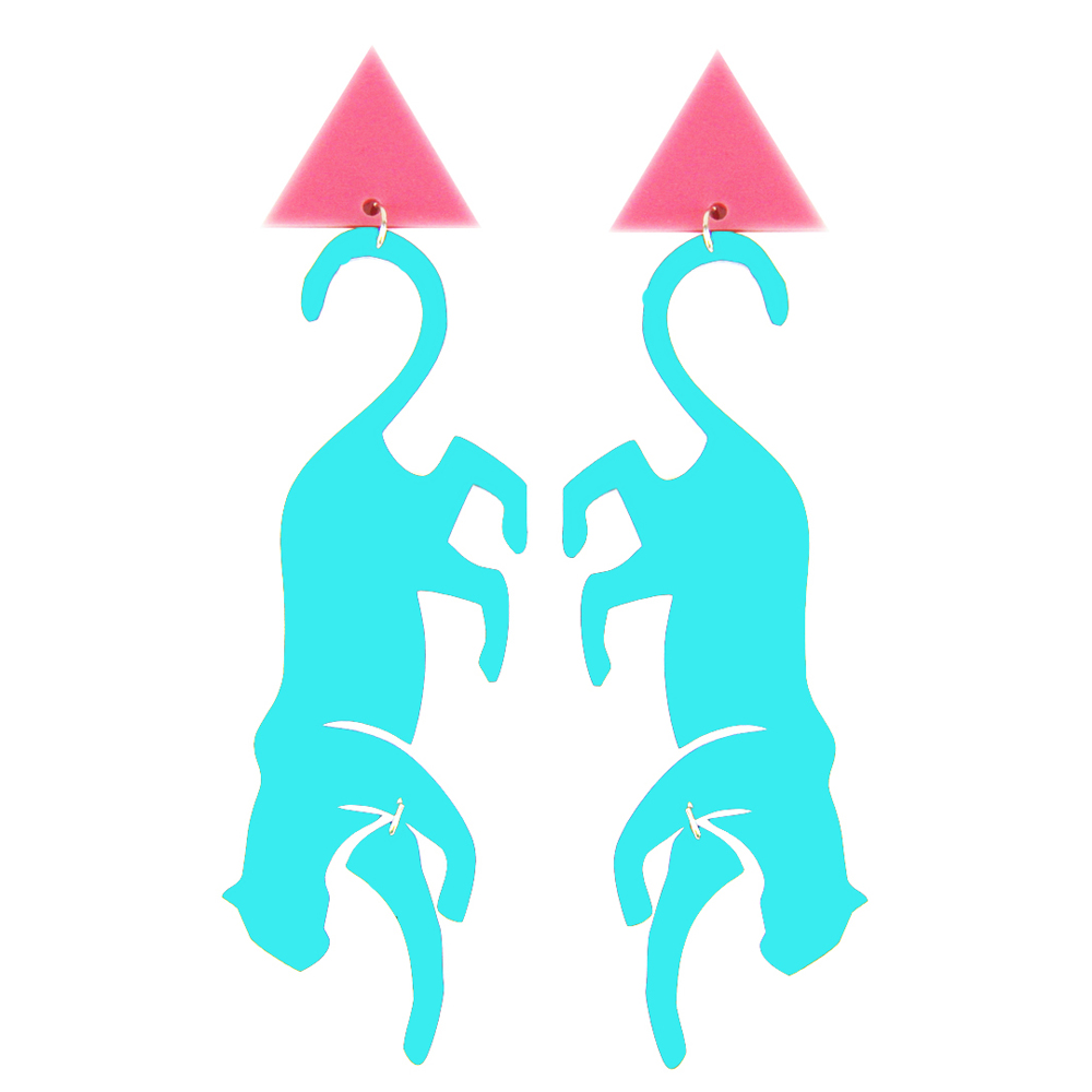 FridaLasVegas_StavroulaAdameitis_Banana_Headpiece_PopArt_Jewellery_Accessories_PANTERA_Pink&Turquoise_earrings.jpg