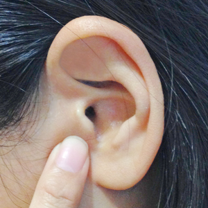 Your tragus is here!
