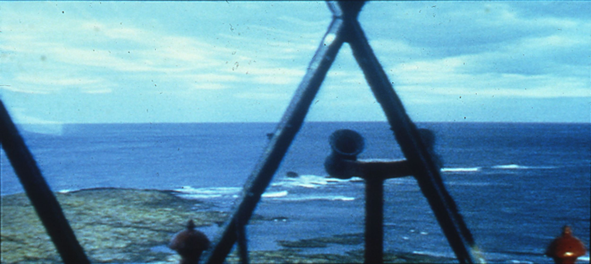 Tacita Dean.  D  isappearance at Sea II,  1996.  16mm color film.