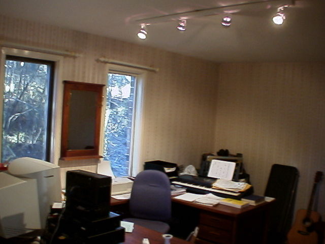 Ad Muncher's first office